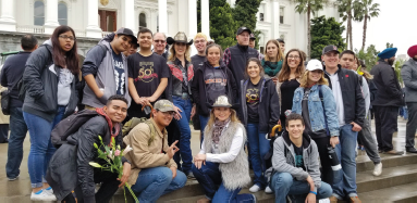 Picture of group of students from Bakersfield.