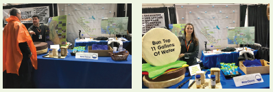 Pictures of Westlands booth at 2019 World Ag Expo