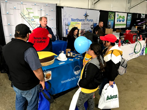 WWD Booth at World Ag Expo in Tulare